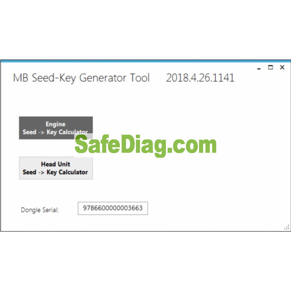Seed-Key Generator Tool for Vediamo and Monaco (for work with Mercedes-Benz cars)