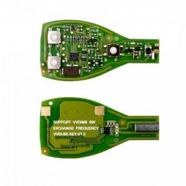 Xhorse VVDI BE Key Pro + Best Quality Benz Smart Key Shell 3 Button Single Battery 10X